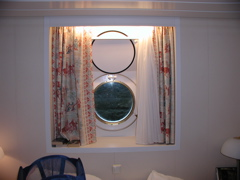 "Our ""stateroom' View"